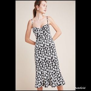 Anthropologie Daisy Midi Dress NWT